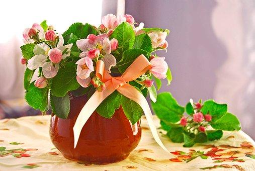 Bouquet, Flowers, Spring, Spring Bouquet