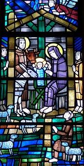 Window, Church Window, Church, Stained Glass
