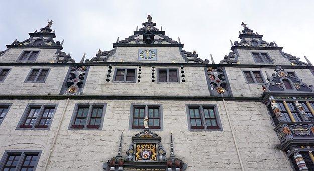 Hann, Münden, Town Hall, Beautiful, Old Town, Tourism
