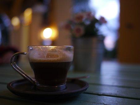 Cup, Coffee, Bokeh, Sailing