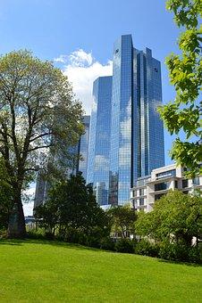 Architecture, Frankfurt, Skyscraper, Building