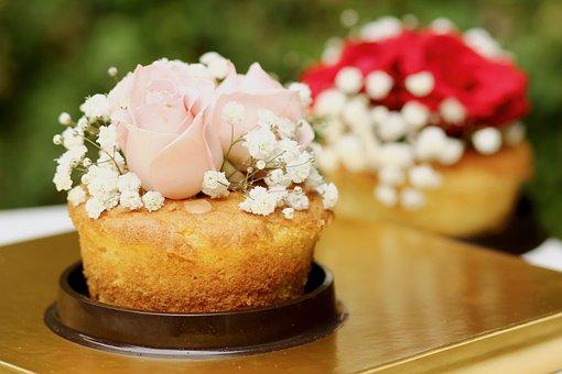 Cake, Sweet, Flowers, Cake Decoration, Food, Dessert