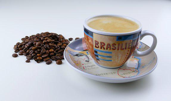 Coffee, Cup, Beans, Coffee Beans, Coffee Cup, Crema