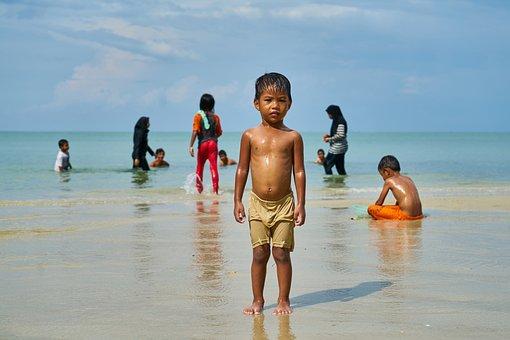 Child, Family, Documentary, Beach, Portrait, Beautiful