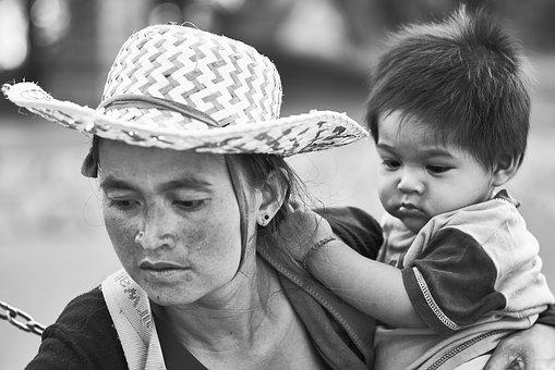 Family, Child, Portrait, Beautiful, Human, Documentary