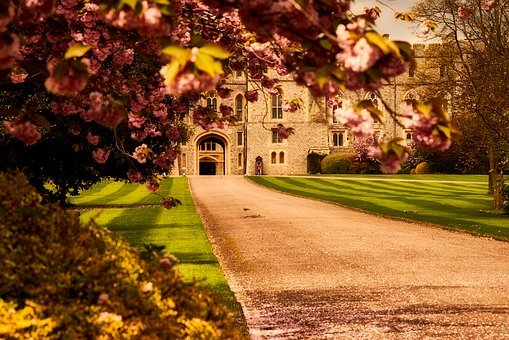 Windsor Castle, Landmark, Historic, Path, Walkway