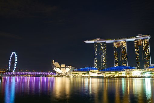 Marina Bay Sands, Hotel, Asian, Singapore, High