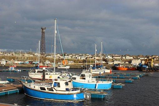Marina, Harbour, Wick, Harbor, Coast, Waterfront, Boat