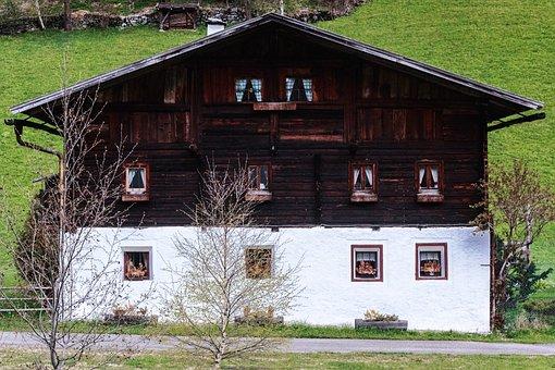 Home, Farmhouse, Building, Old House, Old Farmhouse