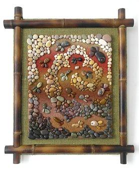 Pebbles, Panels, Work