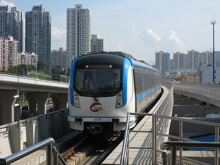 Shenzhen, Metro, Railway, Rail, Travel, Urban, Business