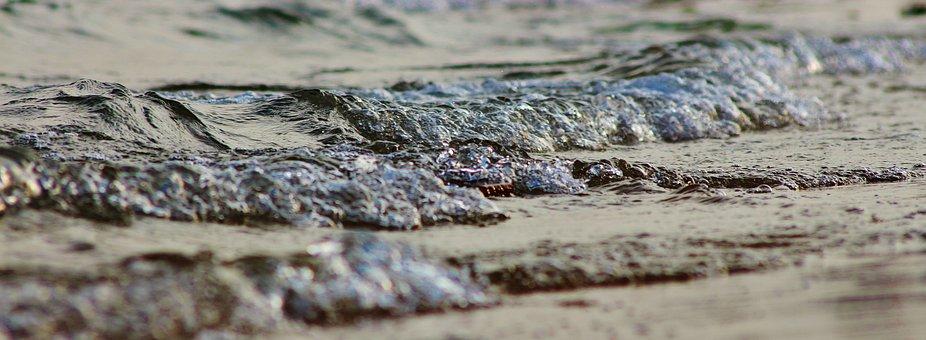 Wave, Sea, Water, Ocean, Ocean Wave, Summer, Beach, Wet