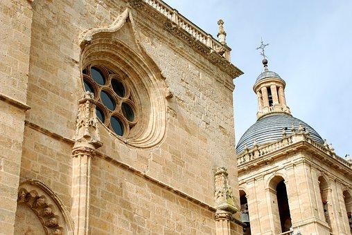Ciudad Rodrigo, Salamanca, Church, Stone, Temple