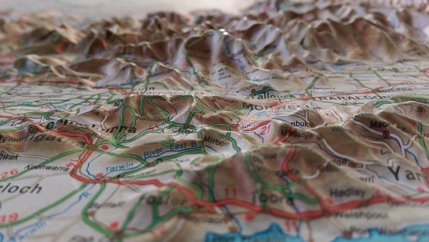 Maps, Topographical Maps, Topographic, Geography