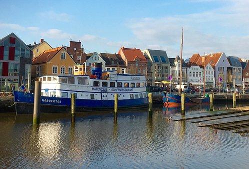 Husum, Port, Ship, Boot, Water, Nordfriesland, Shipyard