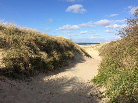 Holland, Zeeland, Beach, North Sea Coast, North Sea
