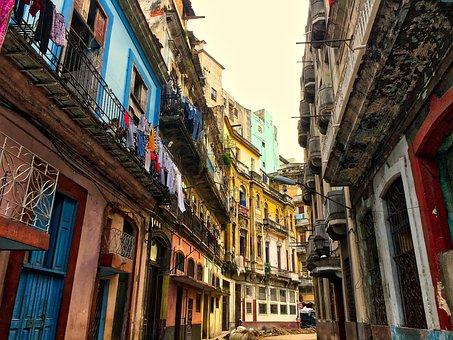 Cuba, Havana, Architecture, City, Buildings, Building