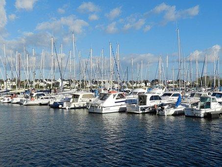 Boats, Port-de-plaisance, Sea, Navigation, Water