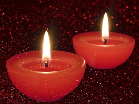 Candles, Burn, Wick, Candle, Burns, Closeup, Fire