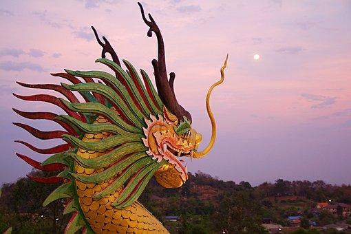 Wat Huay Pla Kung, Chiang Rai, Thailand, Temple
