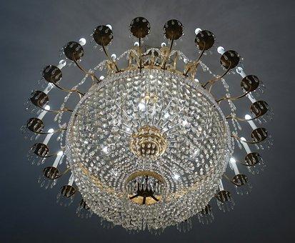 Crystal Chandeliers, Luster, Crystal, Light, Lighting