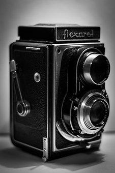Flexaret, Old Camera, Camera, Old, Movie, Film Camera