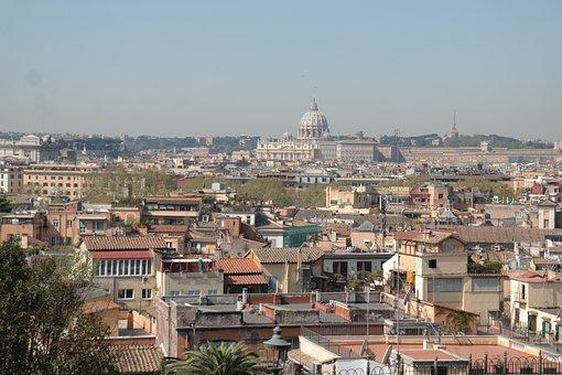Rome, Landscape, Lazio, Italy, Monument, Vatican