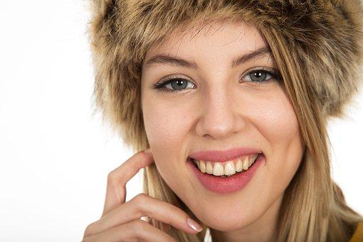 Laugh, Women's, Teeth, Beautiful, Exposure, Model