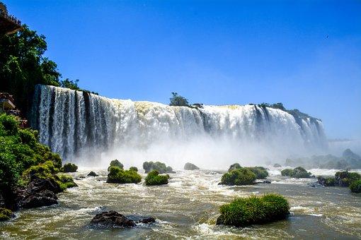 Waterfall, Tourist Spot, Tourism, Cataracts, Travel