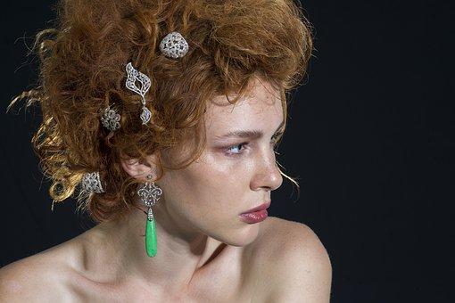 Women's, Hair, Jewelry, Model, Fashion, Exposure