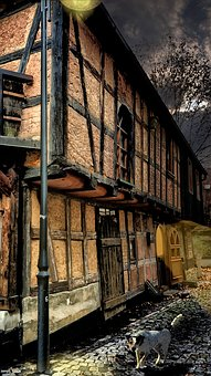 Old, Old House, Architecture, Building, Facade, Wall