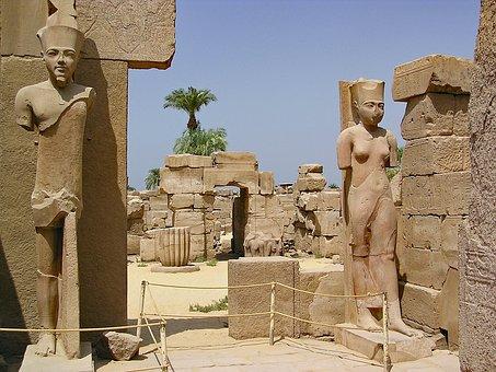 Karnak, Egypt, Temple, Antiquity, Weltwunder
