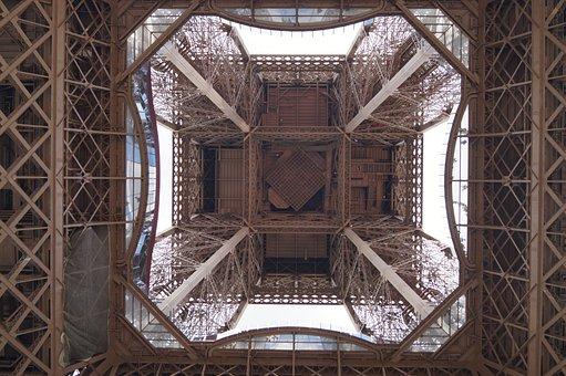 Eiffel Tower, Paris, Symbol, Eiffel