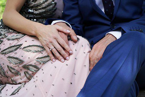 Double, Women's, Male, Engagement, Marriage, Hands
