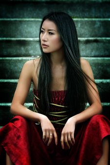 Asian, Girl, Model, Attractive, Female, Young, Woman