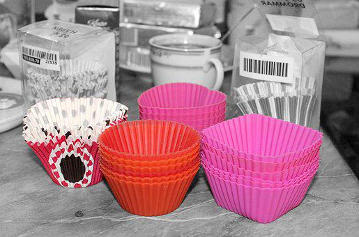 Candy Shape, Forms For Cupcakes, The Muffin, Muffin Tin