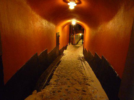 Stockholm, Old Town, Alley, Gamla Stan