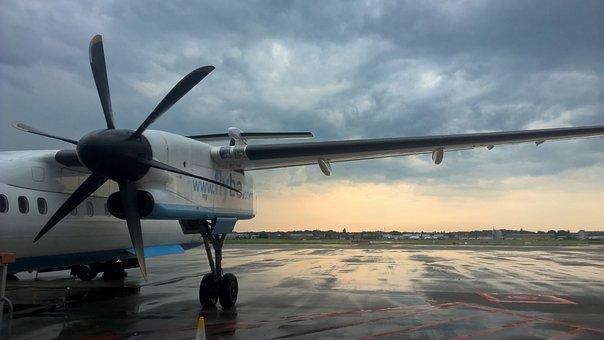 Fly, Aviation, Passenger Aircraft, Hanover, Runway