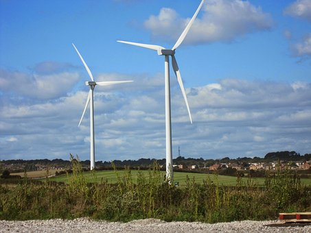 Windfarms, Farming, Wind, Farm, Energy, Power