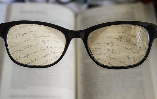 Glasses, Reading, Book, Read, Education, Study, Student