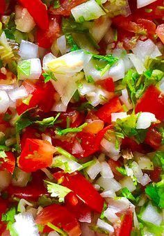 Mexico, Pico De Gallo, Taco, Tacos, Sauce, Chili, Spicy
