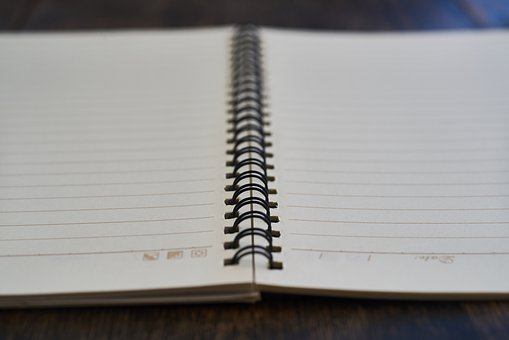 Notebook, Book, To Write, Work, Note, Take Notes