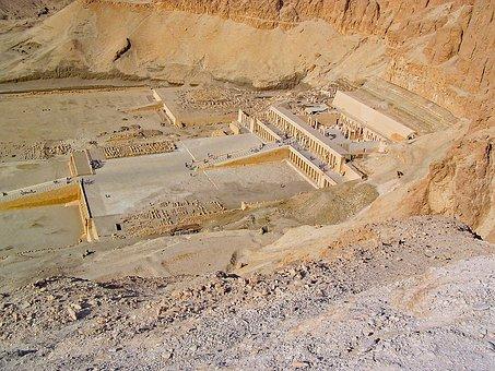 Thebes, Egypt, Hatchepsut, Temple, Antiquity