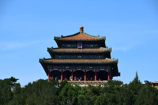China, Beijing, Temple, The Temple On The Hill