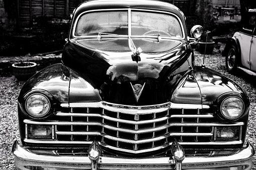 Vintage, Car, Cadillac, Automobile, Vehicle, Classic
