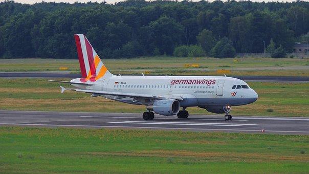 Berlin, Airport, Air, Plane, German, Wings, Travel