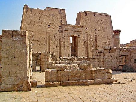 Edfu, Egypt, Temple, Antiquity, Weltwunder