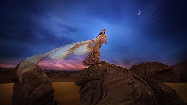 Loulan, Starry Sky, Art