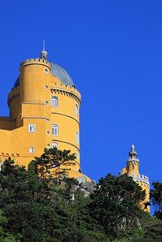 Angle, Beautiful, Beauty, Blue, Castle, Dome, Feather