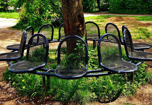 Sit, Bank, Park, Metal, Rest, Park Bench, Benches, Seat
